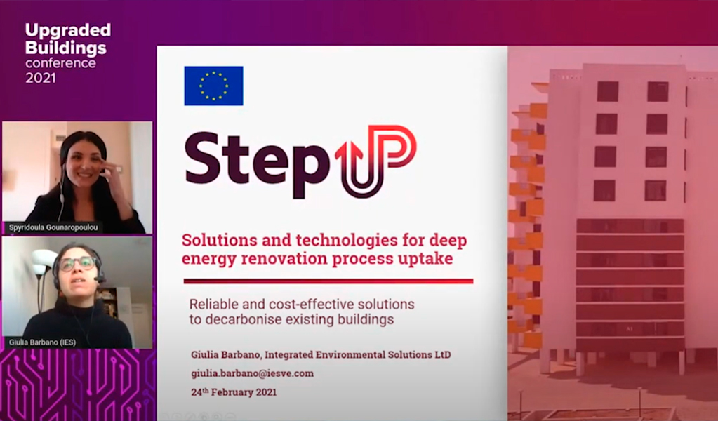 StepUP Upgraded Building Conference