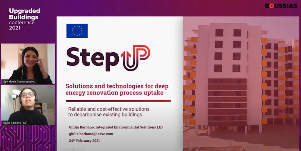 StepUP Upgraded Building Conference