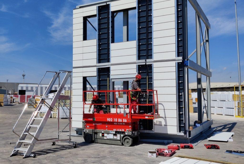 Prefabricated façades